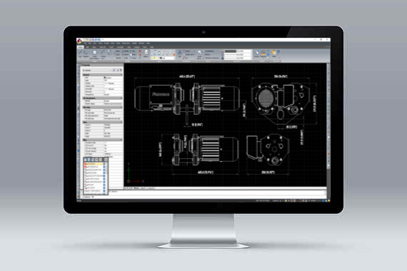 CMS IntelliCAD software cad .dwg compatible