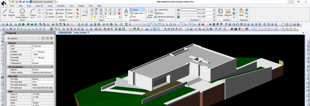 Lanzamiento del software CAD compatible CMS IntelliCAD 8.3 PE