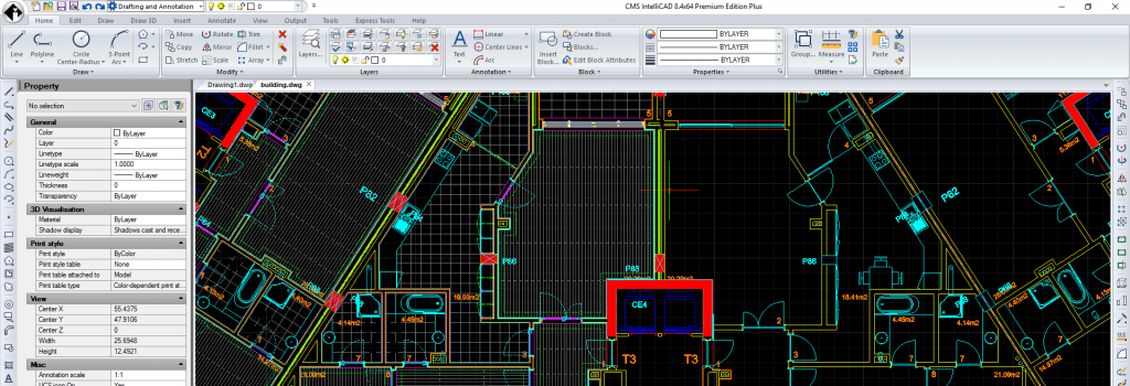 Nuevo software CAD CMS IntelliCAD 8.4 Premium